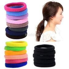 50X Gril Baby Children Mini Ponytail Elastic Rubber Hair Bands Ties Hairband New