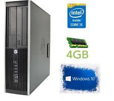 CHEAP HP 8200 Elite Core i5 4GB RAM 500 HDD Windows 10 PRE LOADED