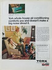 1969 York whole house  air conditioning doesn't make big noise about it ad