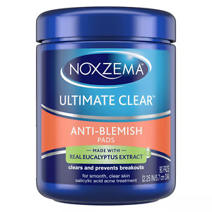 Noxzema Ultimate Clear Face Pads Anti-Blemish 90 Count