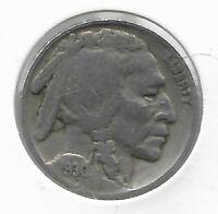 Rare Antique 1930 US Buffalo Indian Nickel Collectible Collection Coin LOT:C73