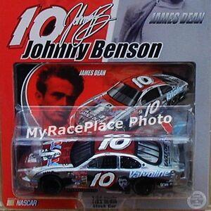 #10 J Benson NASCAR 1/64 Action Diecast Stock Car_  PONTIAC VALVOLINE JAMES DEAN