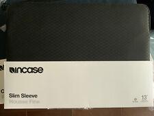 "Incase Slim Sleeve w/Diamond Ripstop for MacBook 13"" Pro/Air Retina -Black (NEW)"