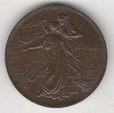 VITTORIO EMANUELE III 10 CENTESIMI 1911 CINQUANTENARIO #MI58