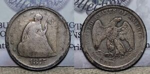 1875 S Twenty Cent Piece 20c