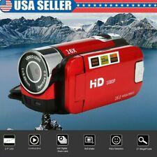 Video Camcorder HD 1080P Handheld Digital Camera 16X Digital Zoom USA
