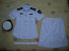 Obsolete 07's China PLA Navy Woman Officer Short-sleeved Summer Uniform,Set,(B)