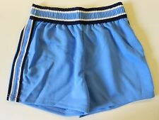"NOS '80's Spanjian Women's Gym Running Soccer Shorts Size 14 29""-33"" Blue USA"