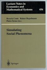 Lecture Notes In Economics and Mathematical Systems 456 Stimulating Social Pheno
