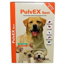 PULVEX  pipettes antiparasitaires tique poux fleat treatment chien 6X1 ML