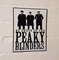 dc7dd9c3ba8 Peaky Blinders Metal Street Sign     2 Sizes Available   Man Cave   The  Garrison