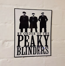 Peaky Blinders Metal Street Sign / / 2 Sizes Available / Man Cave / The Garrison