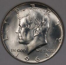 1964 P Kennedy Half Dollar BU Roll 20 Coins 90% Silver