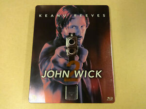 BLU-RAY METAL CASE / JOHN WICK 2 (KEANU REEVES)