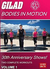 GILAD BODIES IN MOTION: 30TH ANNIVERSARY SHOWS 1 - DVD - Region Free