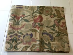 Springs Vintage Standard Pillow Sham Embroidery Look Floral