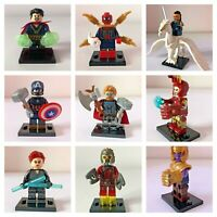 Marvel Avengers Mini Figures (Fits Lego)