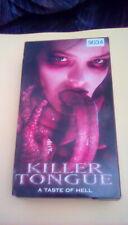 Killer Tongue RARE gory sick case 1999 VHS slasher horror gore Robert Englund