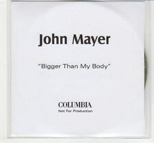 (EC589) John Mayer, Bigger Than My Body - DJ CD