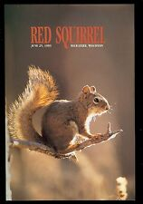 Usa #2489 1993 29c Red Squirrel Stamp First Day Ceremony Program