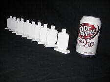 Steel Shooting Targets - IDPA Knockovers 3in. Tall - 10pcs Pistol/Rifle plates