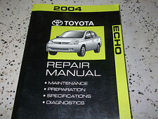 2004 TOYOTA ECHO Service Shop Repair Workshop Manual VOLUME 1 NEW