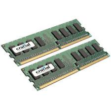 Crucial CT2KIT25664AA800 (4 GB, PC2-6400 (DDR2-800), DDR2 RAM, 800 MHz, DIMM 240-pin) RAM Module