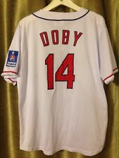 Cleveland Indians Larry Doby 1948 SGA XL Jersey #14 7-5-2014