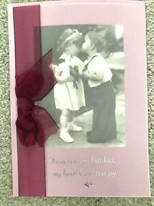 Papyrus Valentine's Day Card - From our very first kiss my heart found true joy