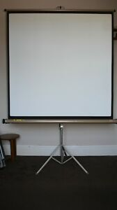 Luxor T Free Standing Projection Screen  125 cm x 118 cm Approx Screen Area
