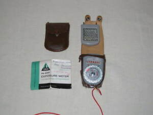 Sears, Roebuck and Co. Tower no.9727 Exposure Meter w/ Booster Attachment, 1957