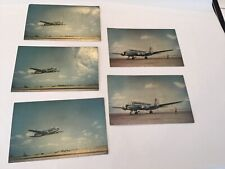 Five postcards KLM Airlines DC-4 Flying Dutchman