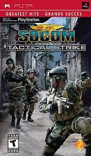 SOCOM: Tactical Strike (Sony PSP) - BRAND NEW - FREE SHIPPING ™