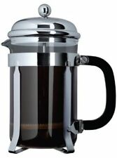 Grunwerg Cafe Ole Classic Coffee Cafetiere 8 Cup/1L Chrome TM-010C