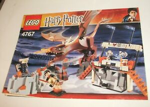 Lego #4767 Harry Potter and the Hungarian Horntail INSTRUCTIONS ONLY