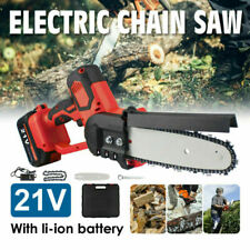 10' Mini Electric Cordless Chainsaw Battery Powered Chain Saw Pruning Shears
