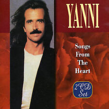 FREE US SHIP. on ANY 3+ CDs! NEW CD YANNI: Songs from the Heart, Vols. 1 & 2 Imp