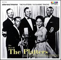 PLATTERS - THE BEST OF CD ~ GREAT PRETENDER~SMOKE GETS IN YOUR EYES 50's *NEW*