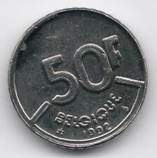 Belgium : 50 Francs 1992 French Legend