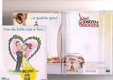 Biglietto + DVD Una vita tutta rose e fiori... con film Quel mostro di suocera