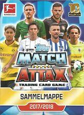 Topps Match Attax 2017/2018 10.Kollektion Karten
