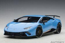Autoart 79153 - 1/18 Lamborghini Huracan Performante 2017 - Pearl Light Blue