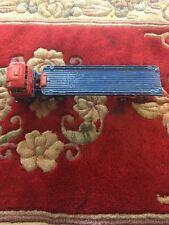 Vintage Die cast Corci Major Toys Flat Bed Truck Blue Red