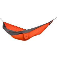 TTTM Parachute Hammock - Packable King Size Hammock  Orange/Grey