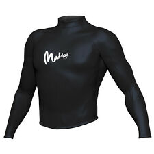 Maddog Insulator Neoprene Long Sleeve Rashie Thermal Heater Top Black - S