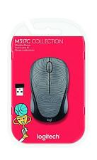 Logitech M325 Deep Gray Bot Collection Wireless Optical Mouse M317