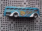 Hot Wheels 2003 Surfin School Bus Blue Beebops Surf Shop 35th Anniversary Mode