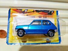 Lesney Matchbox 1978 Mb21C Blue Renault 5Tl Le Car Tan Interior Silver Base MiP