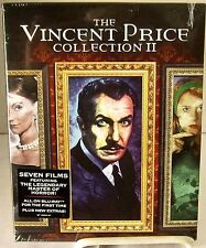 The Vincent Price Collection II (Blu-Ray Set, Oct-2014) 7 Films on 4 Discs New.