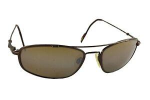 MAUI JIM BIG ISLAND FLEXON Sunglasses MJ 303-23 Aviator Style in Case